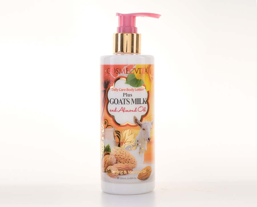Cosmecvita Body Lotion Goats Milk & Almond Oil