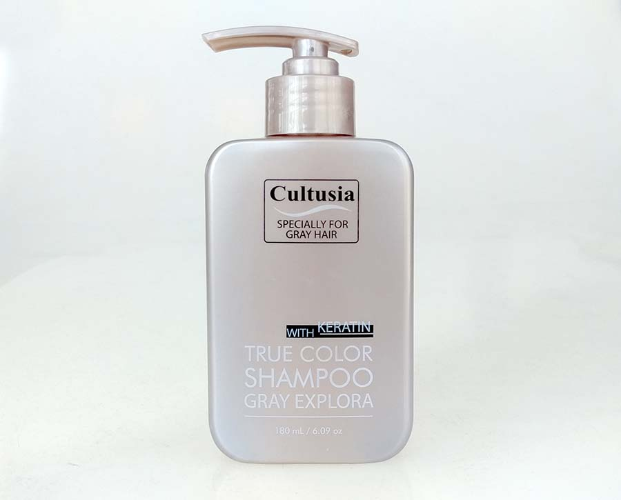 Cultusia Shampoo Gray Explora for Coloured Hair
