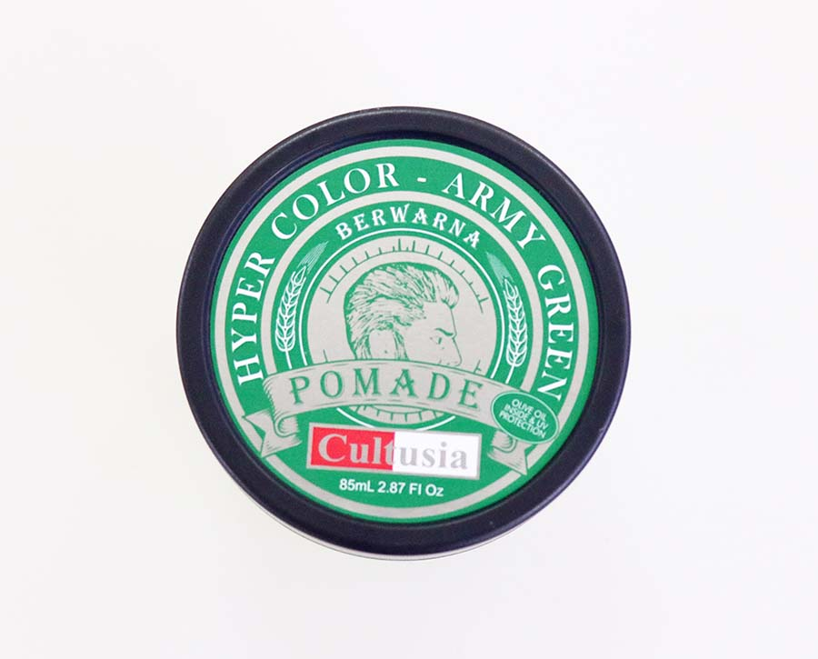 Cultusia Pomade Hyper Color Army Green