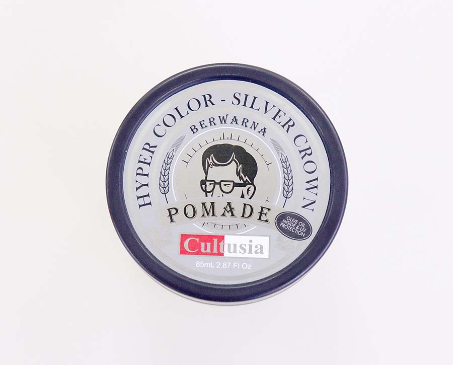 Cultusia Pomade Hyper Color Silver Crown