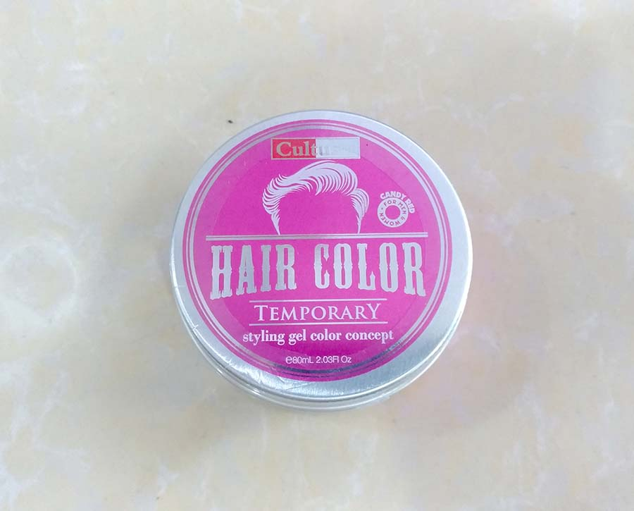 Cultusia Styling Gel Color Candy Red