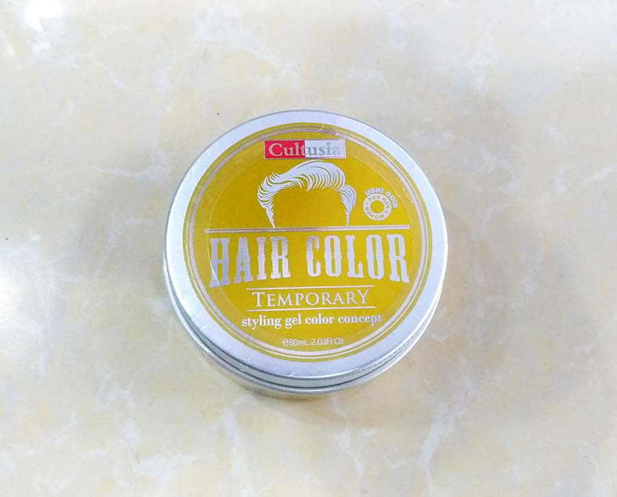 Cultusia Styling Gel Color - Light Gold