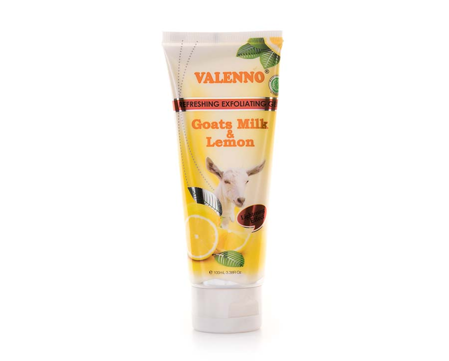 Valenno Exfoliating Gel Goats Milk & Lemon